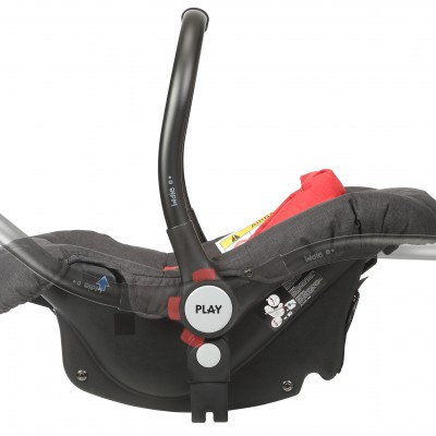 4-position carrier handle. It enables the hammock and swing functions.