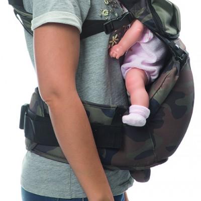 Distancia entre el bebé y la madre regulable.