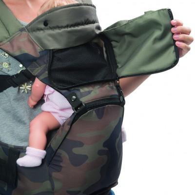 Ventilación frontal para el bebé.